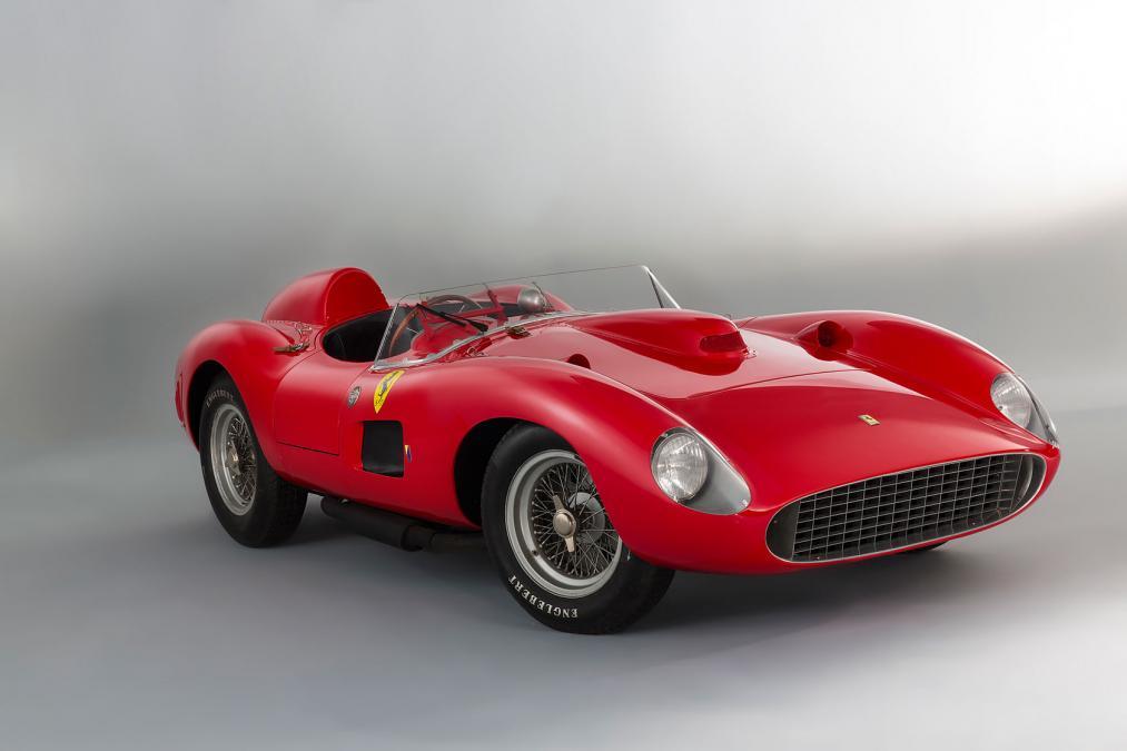 1957 Ferrari 335 S Scaglietti- 2016 Paris Retromobile Auction-2