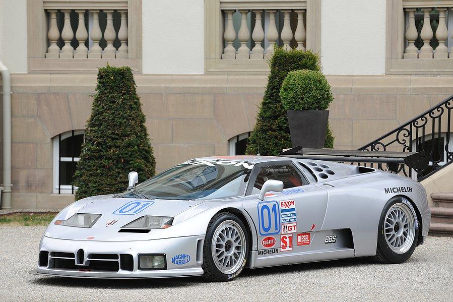 1995 Bugatti EB110 SS Sport Competizione- Retromobile Auction 2016