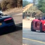 2017 Audi R8 Spyder Prototype caught testing in Africa-1