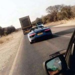 2017 Audi R8 Spyder Prototype caught testing in Africa-2