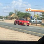 2017 Audi R8 Spyder Prototype caught testing in Africa-3