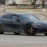 2017 Porsche Panamera caught testing in the US-1