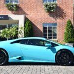 Blue Glauco Lamborghini Huracan For Sale in the US-2