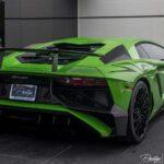 Green Lamborghini Aventador for sale in the US- Prestige Imports Miami-2