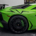Green Lamborghini Aventador for sale in the US- Prestige Imports Miami-6