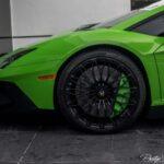 Green Lamborghini Aventador for sale in the US- Prestige Imports Miami-7