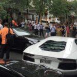 Lamborghini Aventador crashed in New Zealand-2