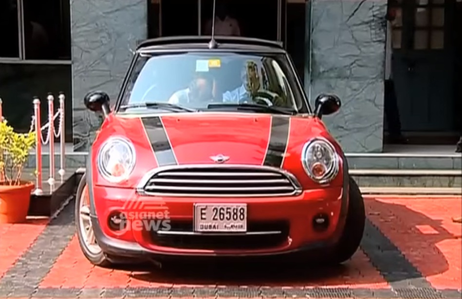 Mini Cooper from Dubai busted by Indian Customs