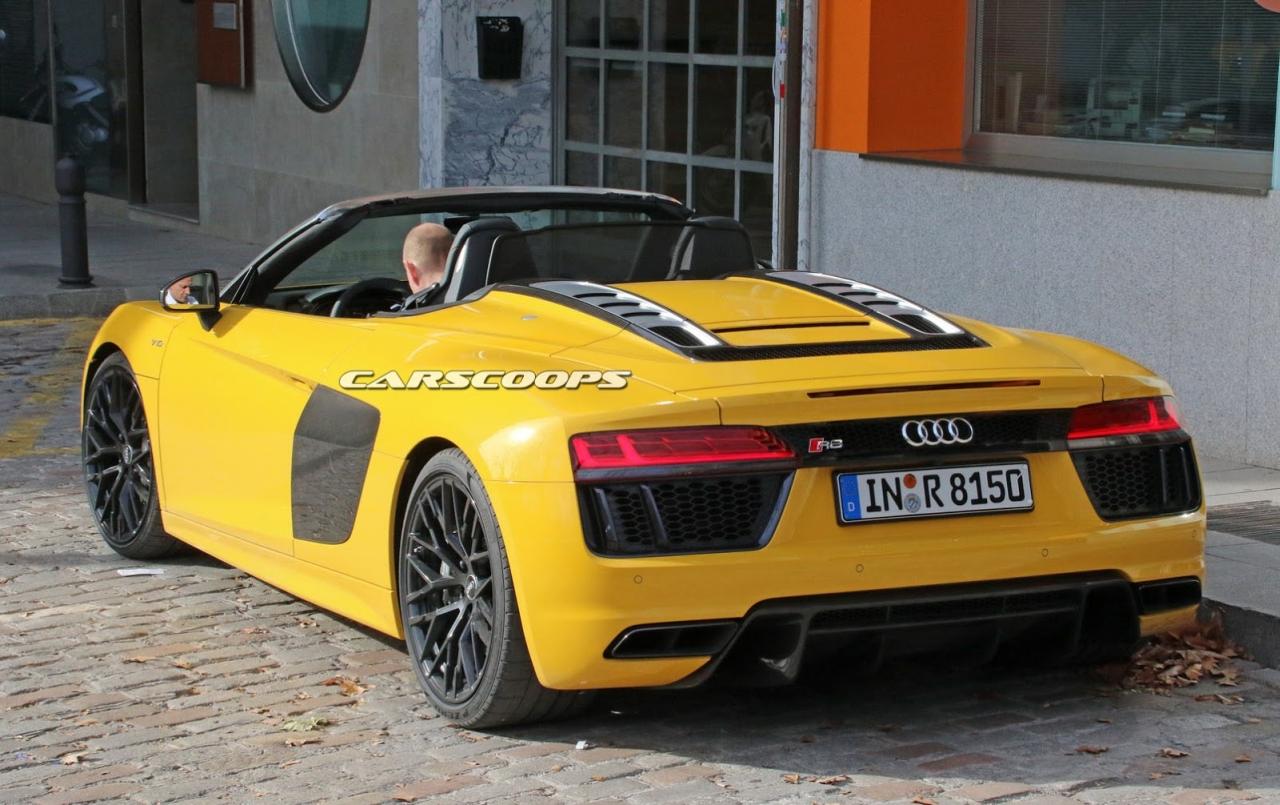 New Audi R8 Spyder Prototype 2