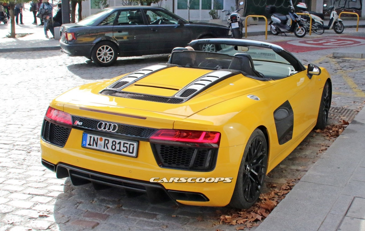 Audi R8 Spyder V10 Plus Spotted In Germany Gallery