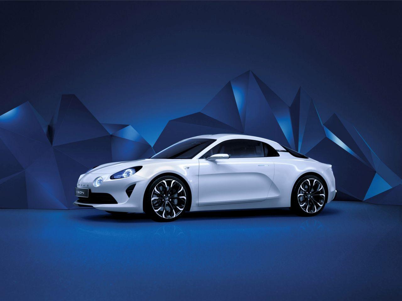 Renault Alpine Vision Concept- 2016 Geneva Motor Show-2