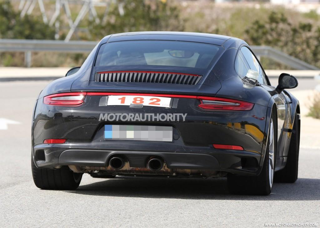 2019 Porsche 911 Prototype Caught Testing 5