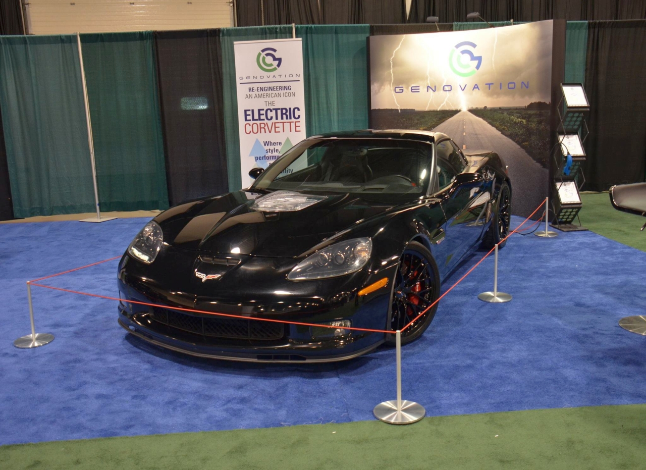 Genovation GXE Corvette Z06 Electric Car Top Speed Record