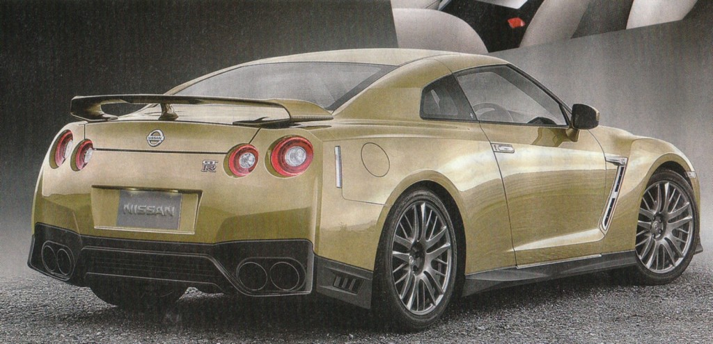Nissan GT-R Facelift Rendering Japan-3