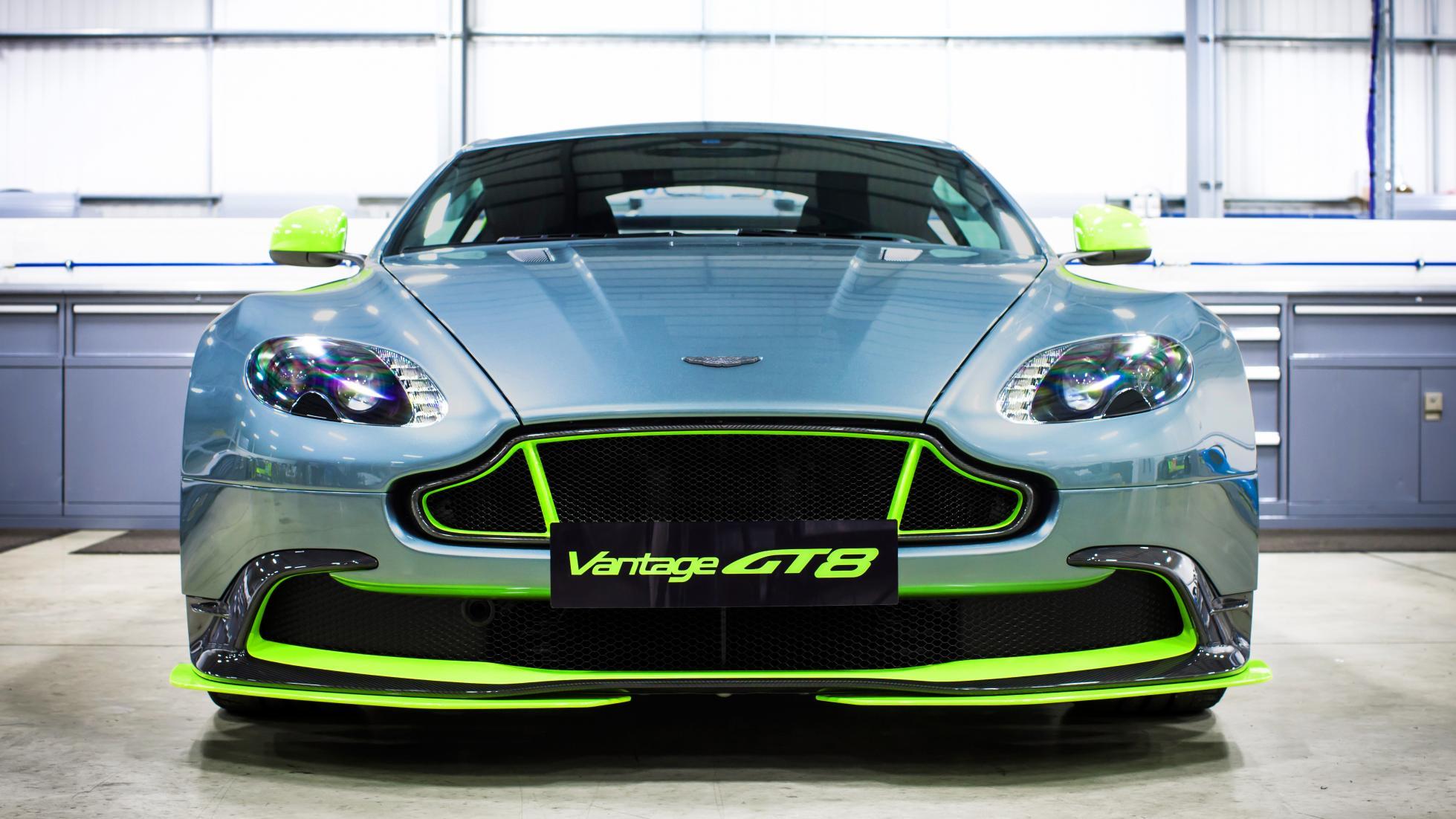 Aston Martin Vantage GT8 Revealed-4