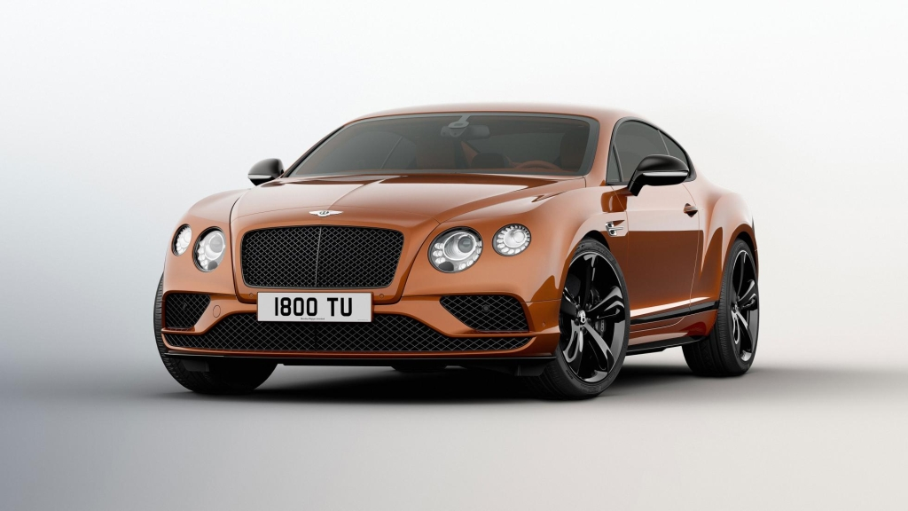Bentley Continental GT Black Edition-1