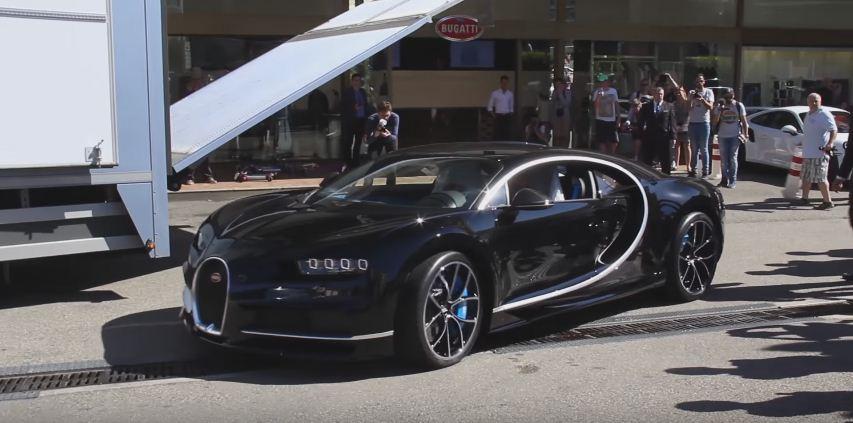 Bugatti Chiron arrives in Monaco-2