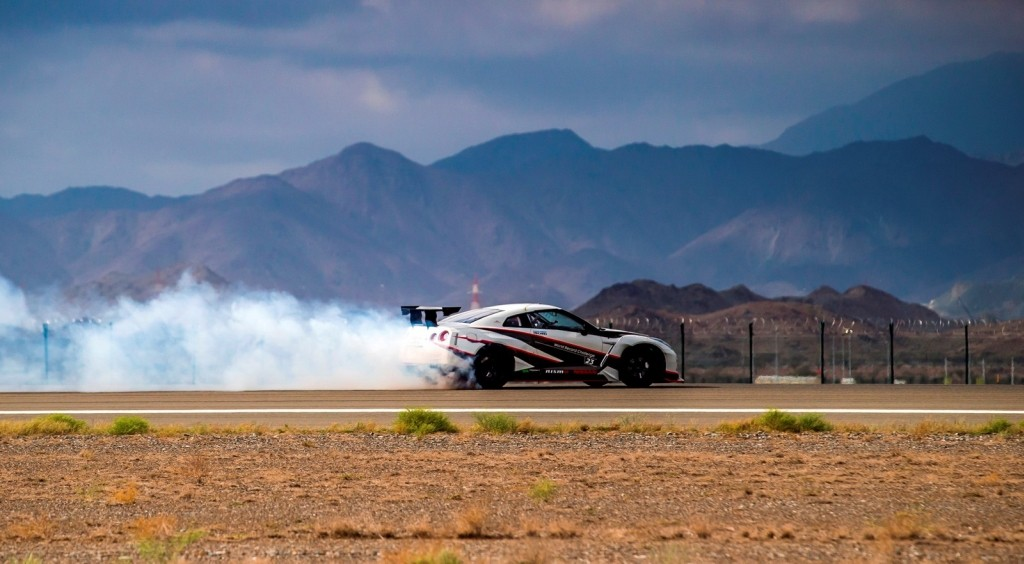 Nissan GT-R World Record for Fastest Drift-2