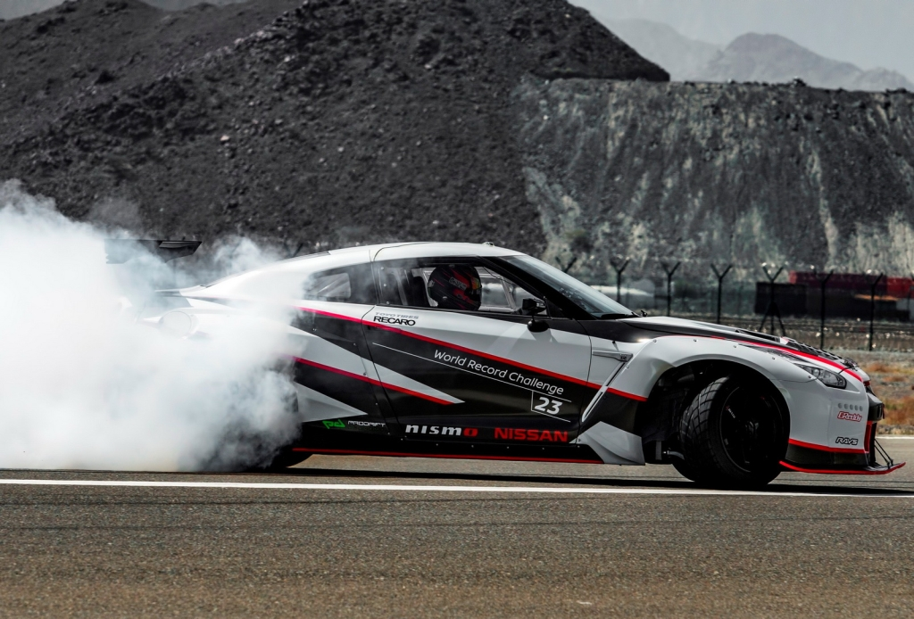 Nissan GT-R World Record for Fastest Drift-4