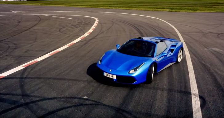 Ferrari 488 Spider- Top Gear teaser