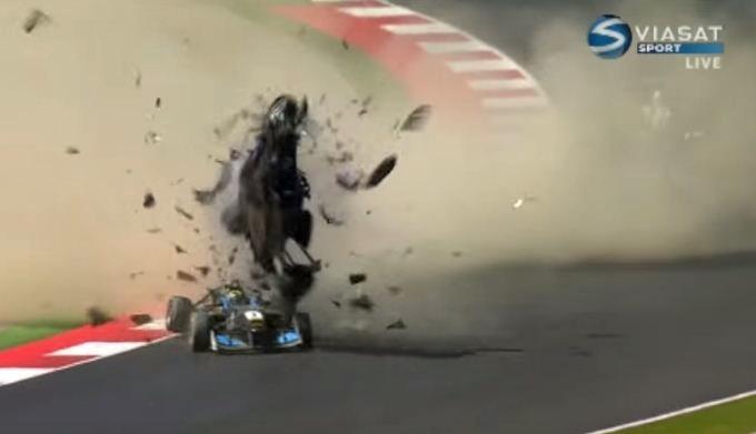 Formula 3 Red Bull Ring crash