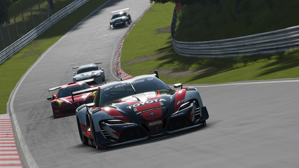 Gran Turismo Sport on PS4- Nurburgring