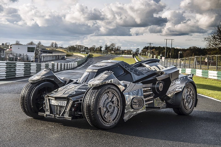 Gumball 3000- Team Galag Batmobile 2.0