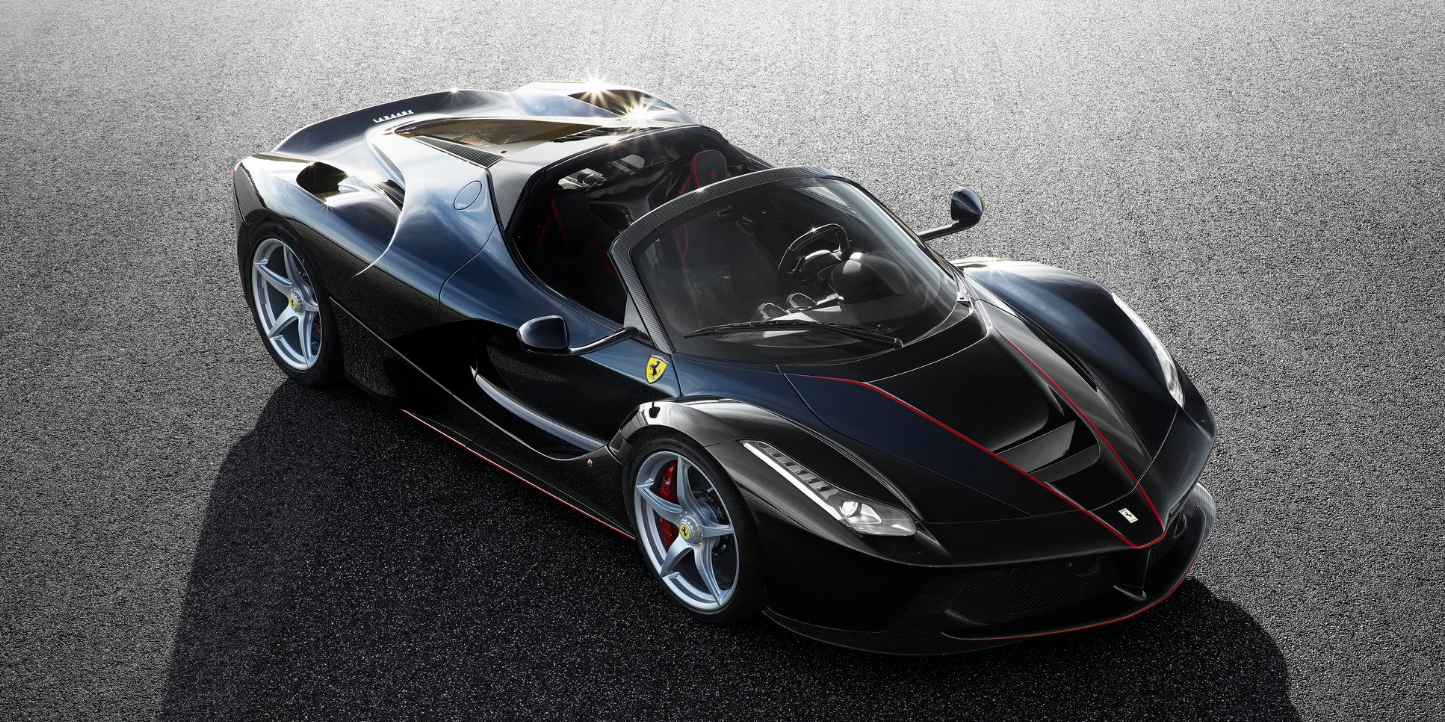 LaFerrari Spider official image