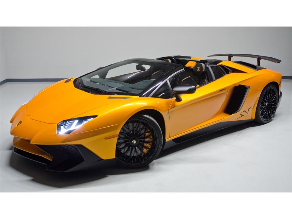 Lamborghini Aventador SV Roadster for sale-1