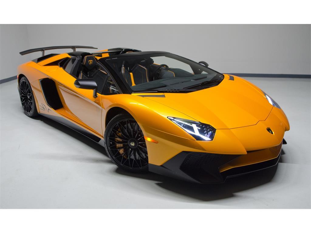 Lamborghini Aventador Sv Roadster For Sale In The Us The Supercar Blog
