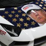 Lamborghini Trump-Ventador goldRush Rally 2016-2