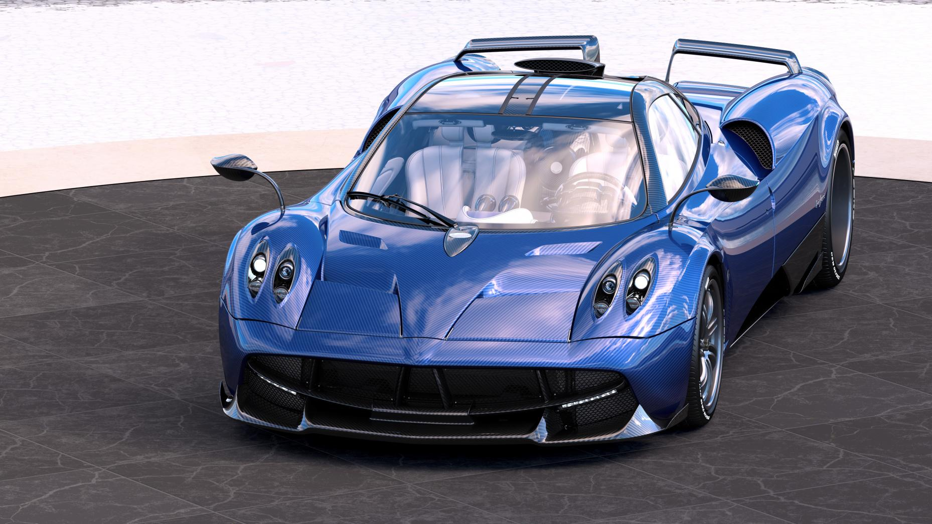 One-off Pagani Huayra Pearl-4