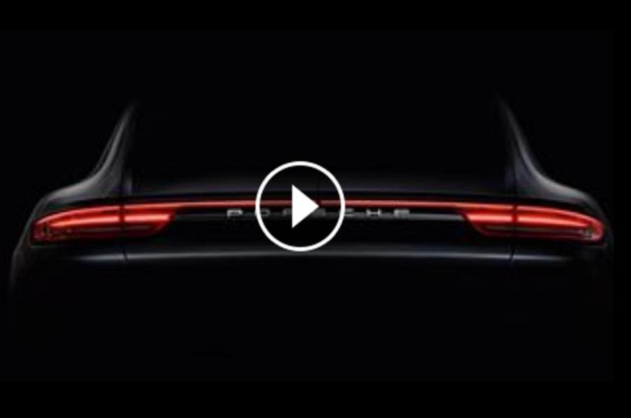 2016 Porsche Panamera teaser