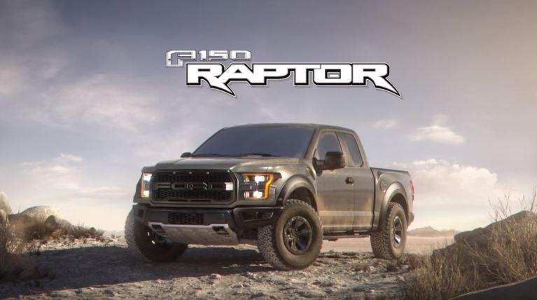 2017 Ford F-150 Raptor 3D animation