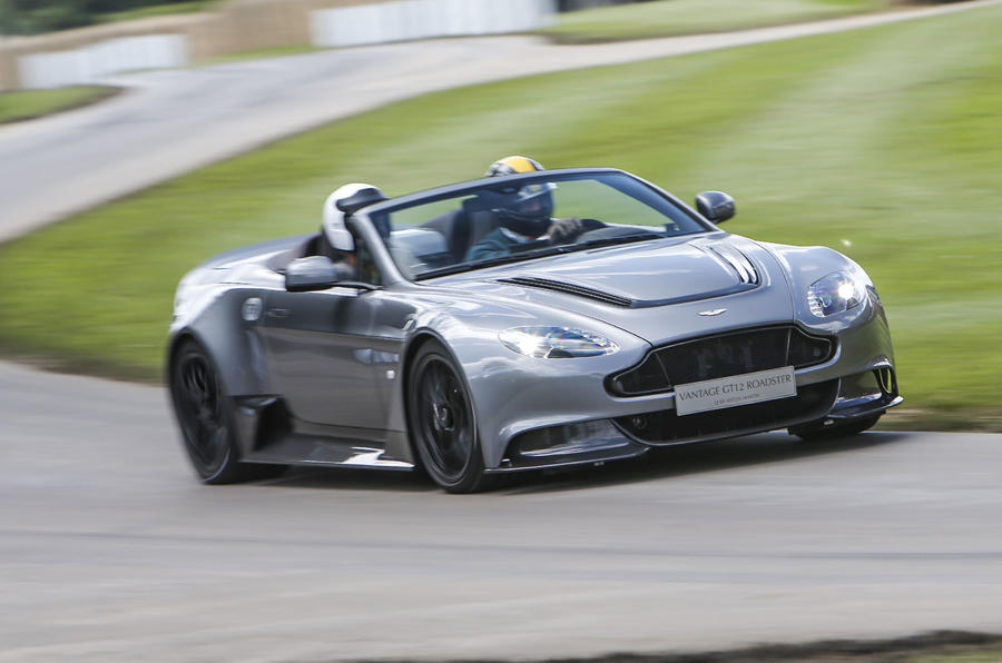 one-off aston martin vantage gt12 roadster revealed - the supercar blog