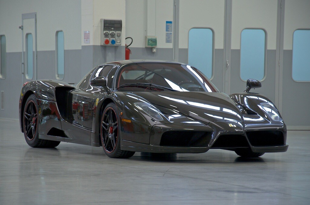 Bare Carbon Fiber Ferrari Enzo For Sale-6
