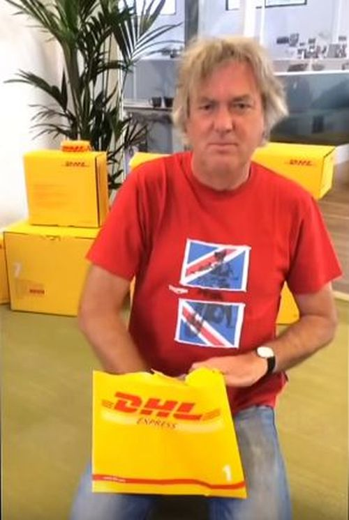 James May DHL Plug