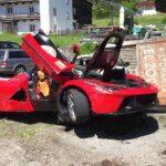 LaFerrari Crash-Ferrari Cavalcade 2016-3