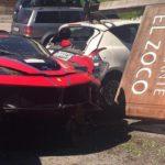 LaFerrari Crash-Ferrari Cavalcade 2016-7