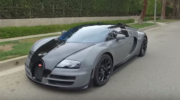 Salomondrin reviews Bugatti Veyron Vitesse