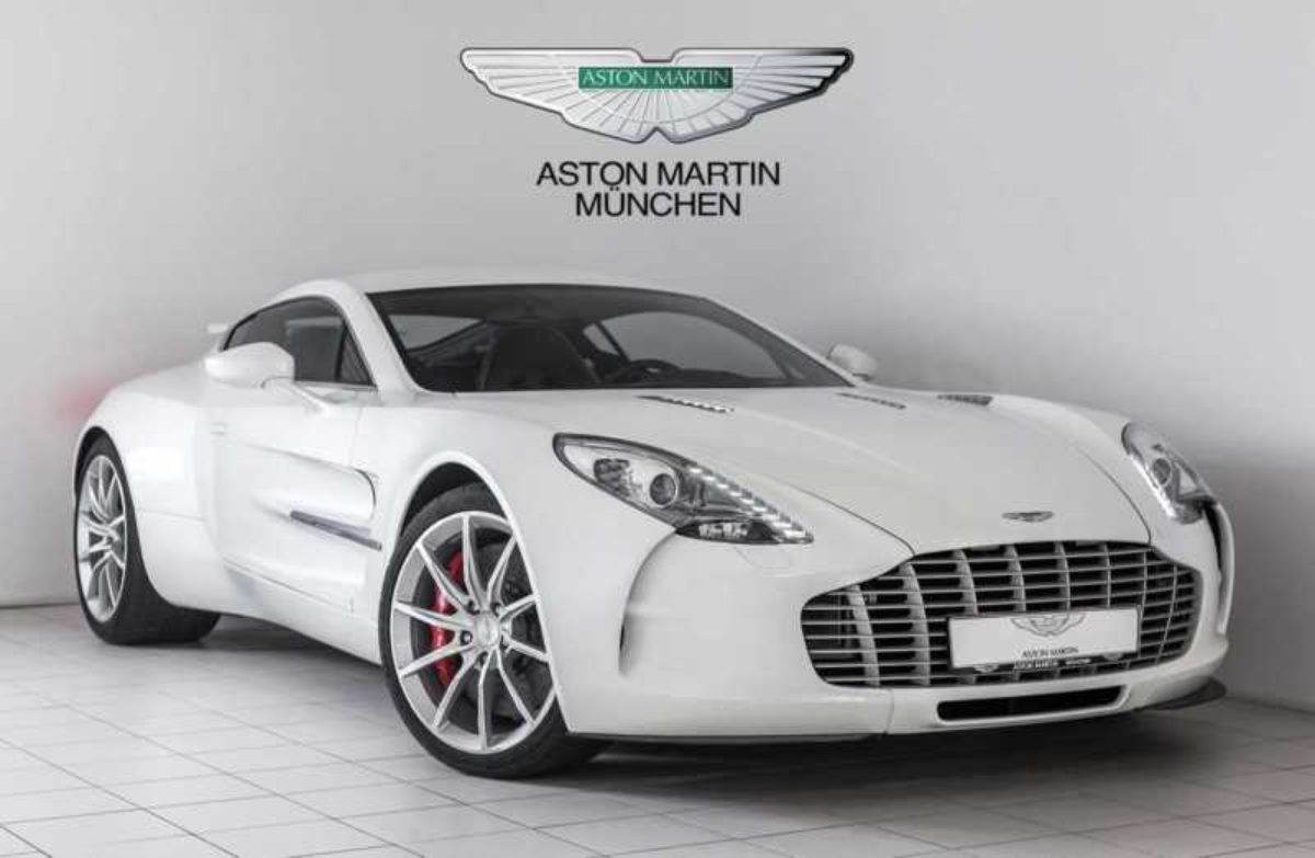 Aston Martin One 77 For Sale In Germany The Supercar Blog