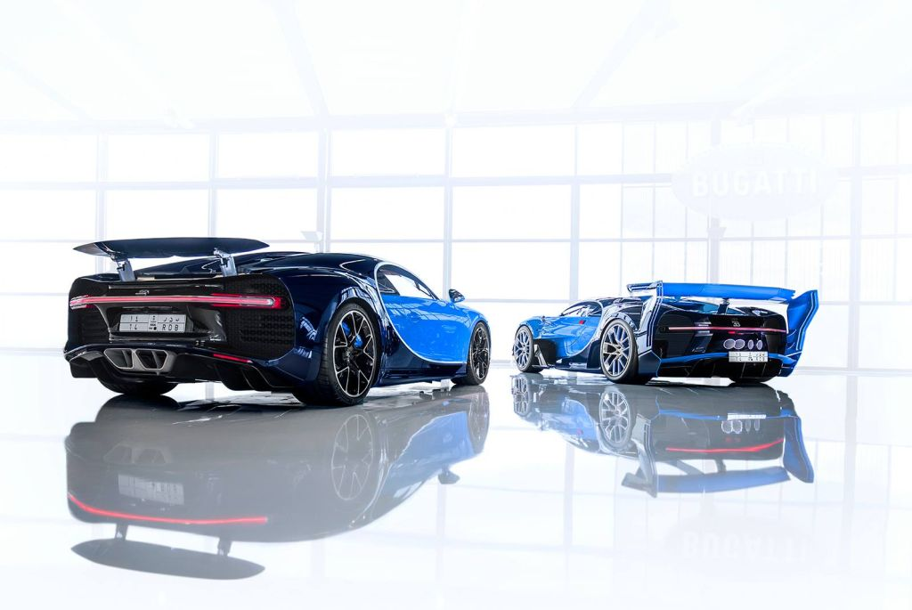 Bugatti Chiron and Vision Gran Turismo Concept sold to Saudi collector