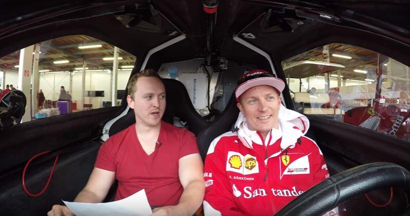 Car Throttle grills Kimi Raikkonen