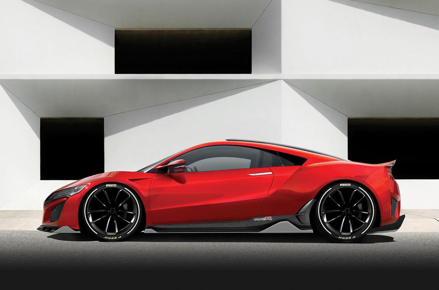 Honda-Acura NSX Type R-2