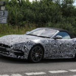 Jaguar F-Type R facelift spy shots-3