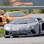 Lamborghini Aventador facelift- spy shots-1