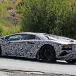 Lamborghini Aventador facelift- spy shots-6