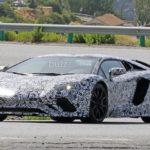 Lamborghini Aventador facelift- spy shots-7