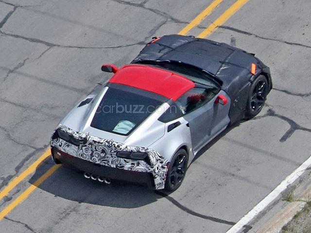 2018 Chevrolet Corvette ZR1 Spy Shots-3