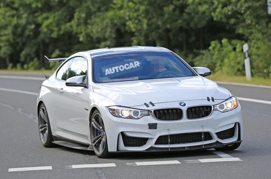 BMW M4 GT4 prototype caught testing-1